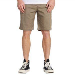 Billabong Carter Stretch Shorts Khaki sz 30